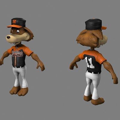 Lloyd chidgzey mascot6