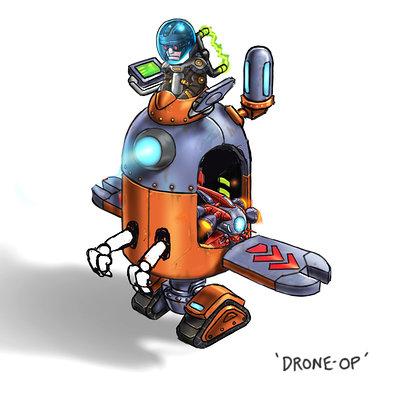 Lloyd chidgzey drone op arm idea