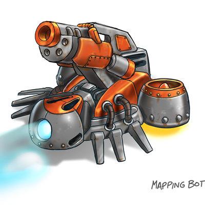 Lloyd chidgzey mapping bot final flak