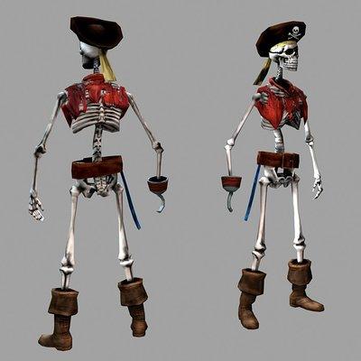 Lloyd chidgzey skeletons