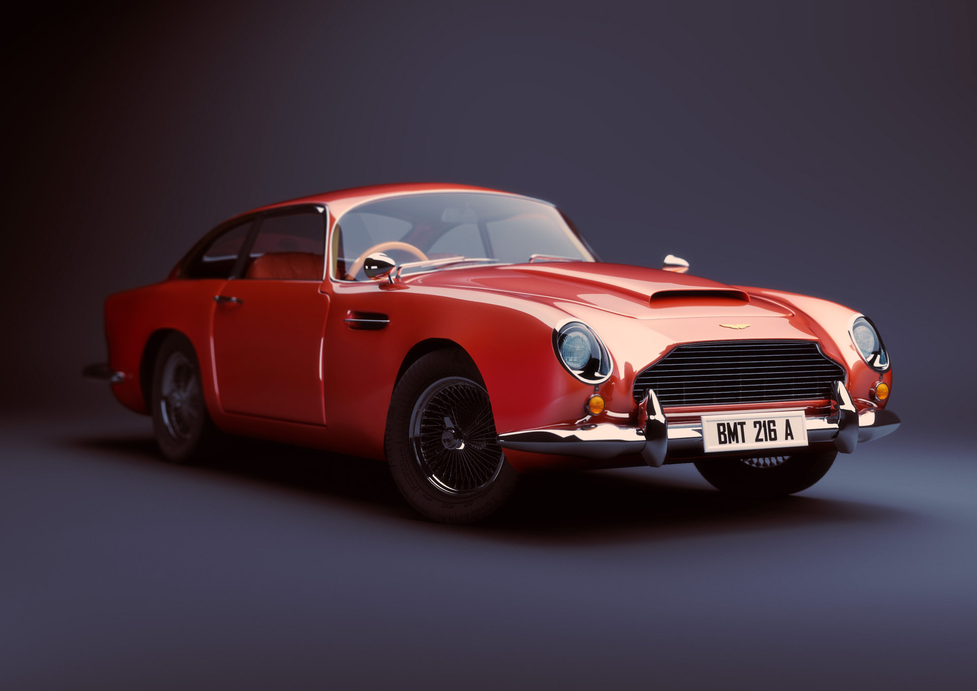 Dries deryckere aston martin db5 1