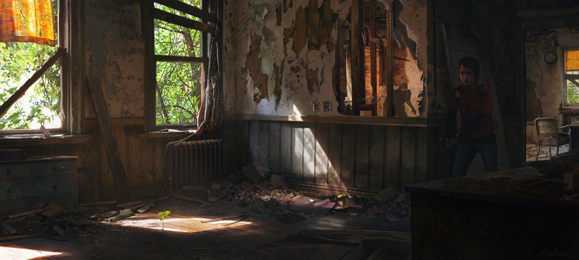 Artstation Last Of Us Fan Art Interior Hemal Patel