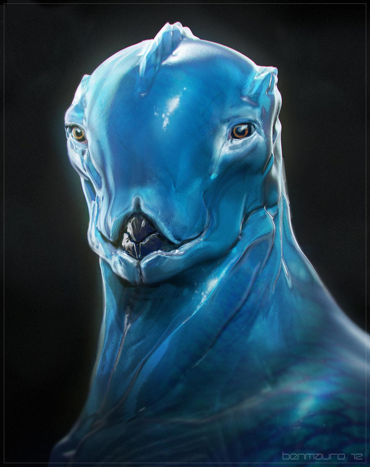 BLUE - Hero