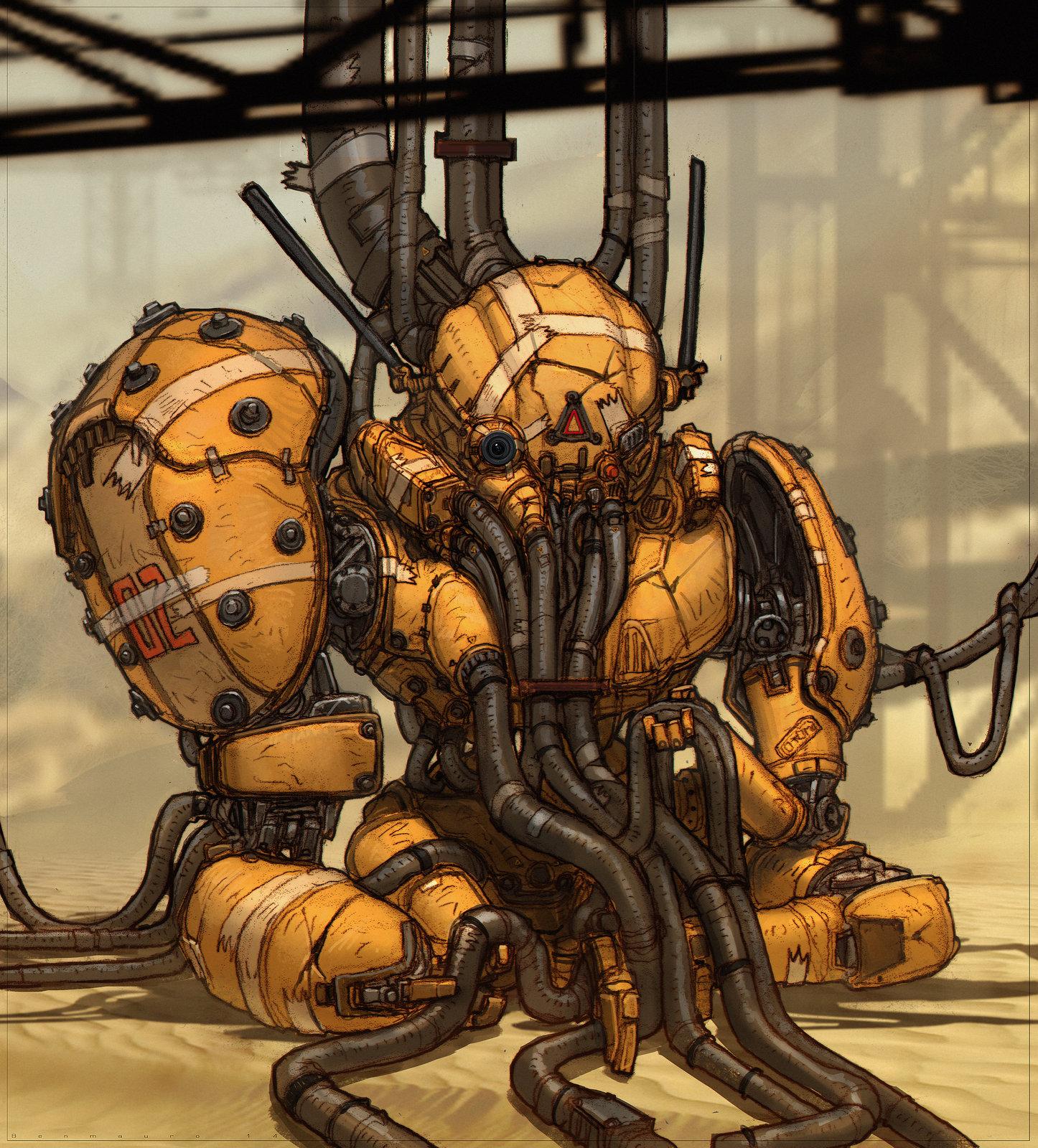 HUXLEY - Robot 02