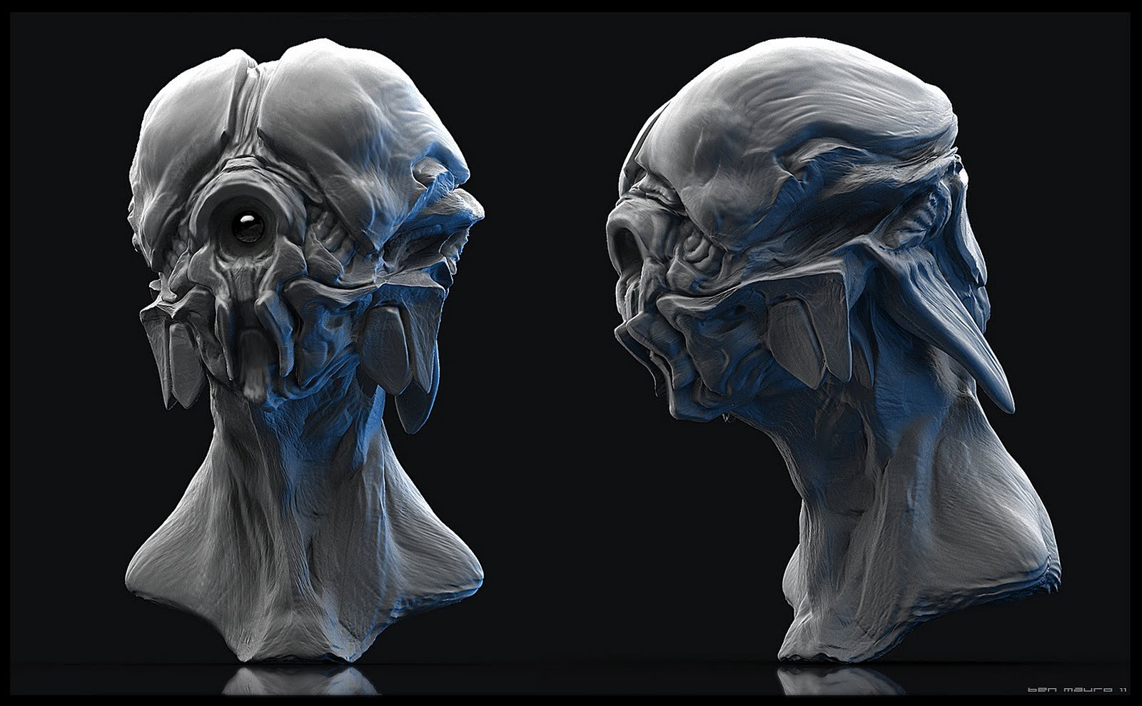 Ben mauro alien wip 01 bm o o