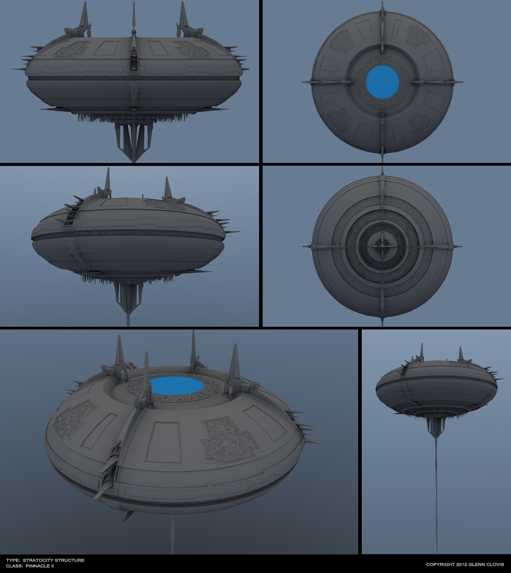 Glenn clovis model pinnacle station by tsarye d54kg1f
