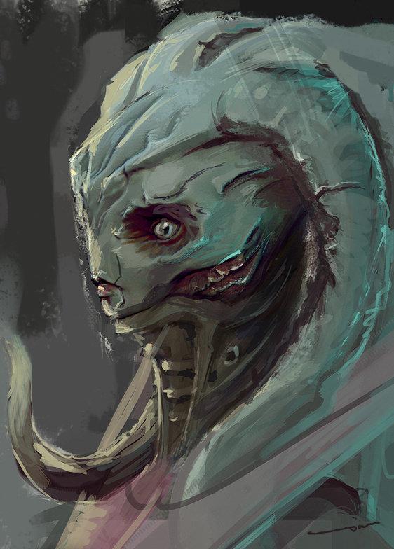 CgHub Bioware Mass Effect Challenge - Concept