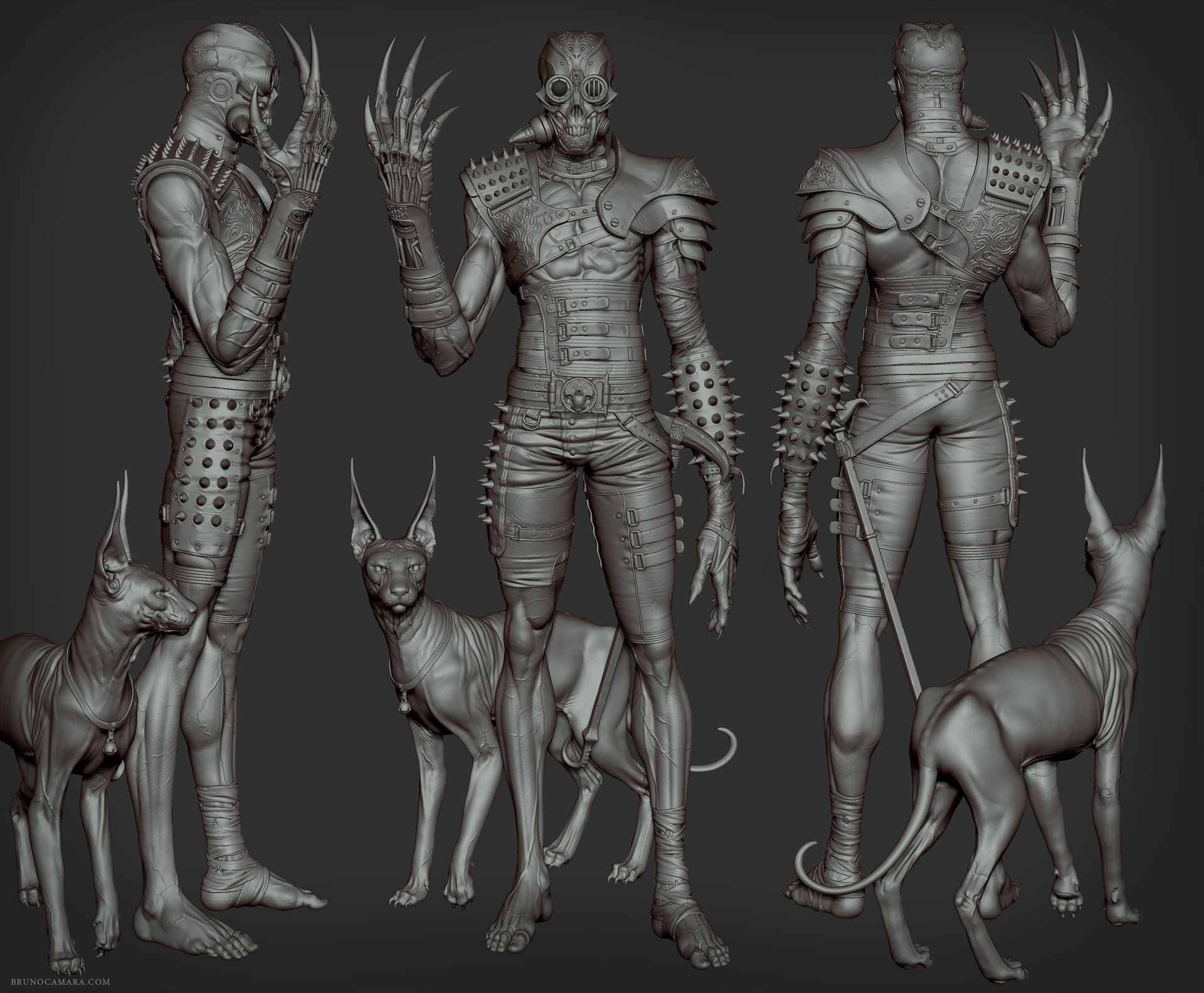 Bruno camara cyborg sculpt bruno camara
