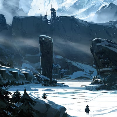 Sparth nicolas bouvier sparth tribute to got the wall small