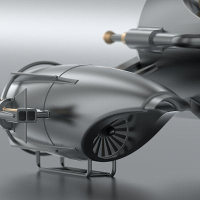 Michael marcondes toy spaceship 01