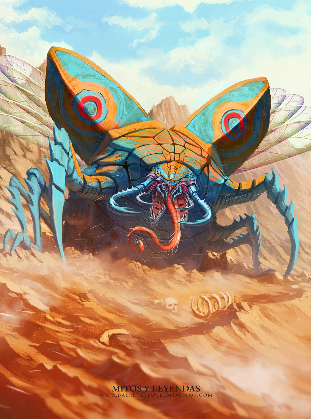 Francisco badilla escarabajo gigante