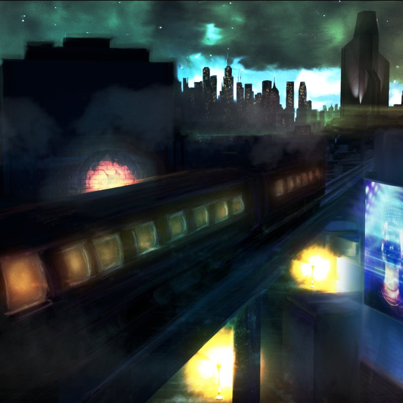 Sleight of Hand - Concept Art - Cityscape