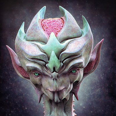 Jia hao 2014 10 alien bust 01 comp