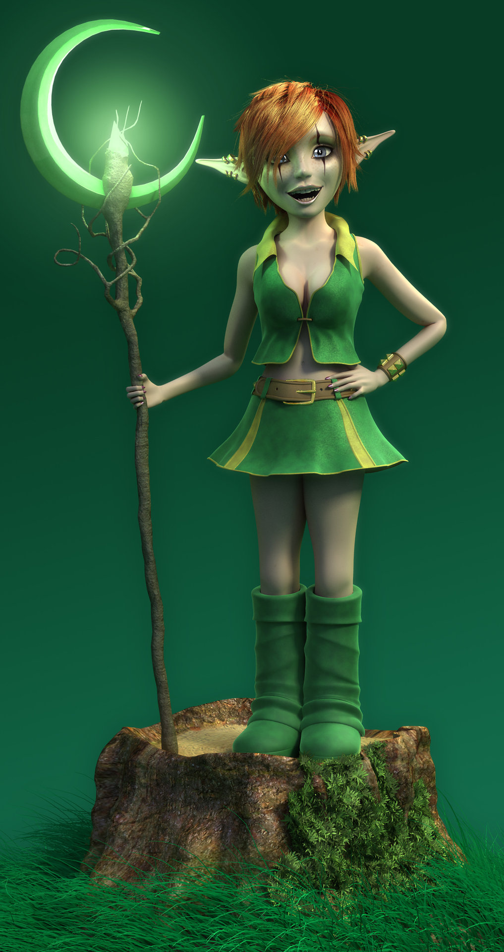 Elf 3d model hentia videos