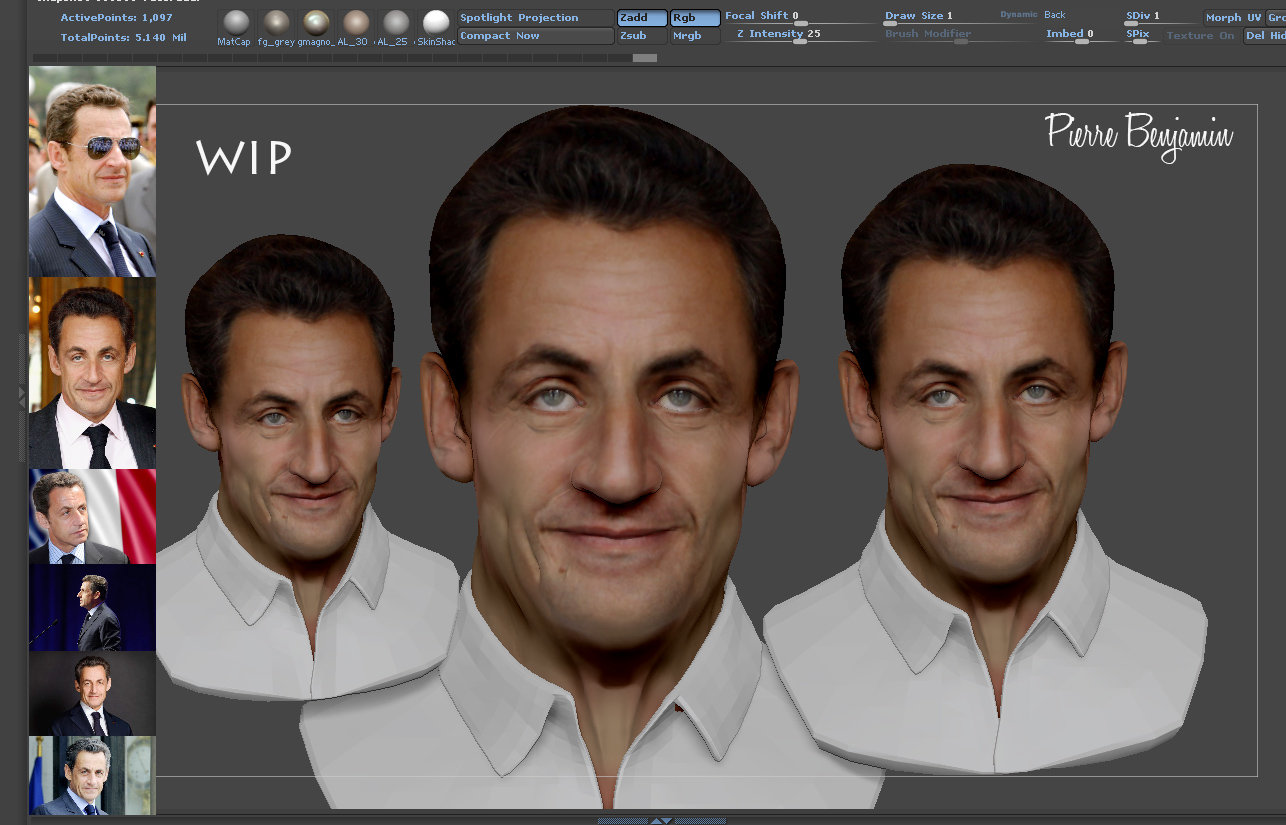 Sarkozy speed sculpt
