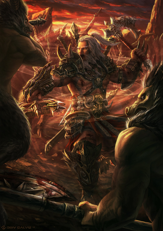 Deiv calviz deiv diablo3 barbarian