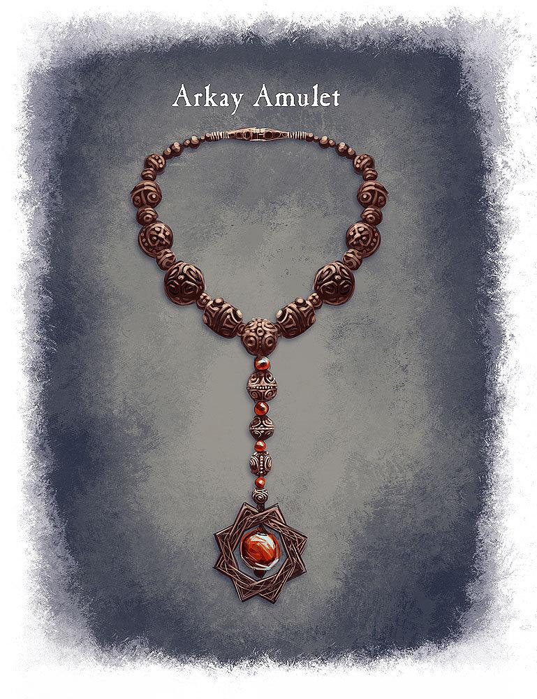 Ray lederer amulet arkay web