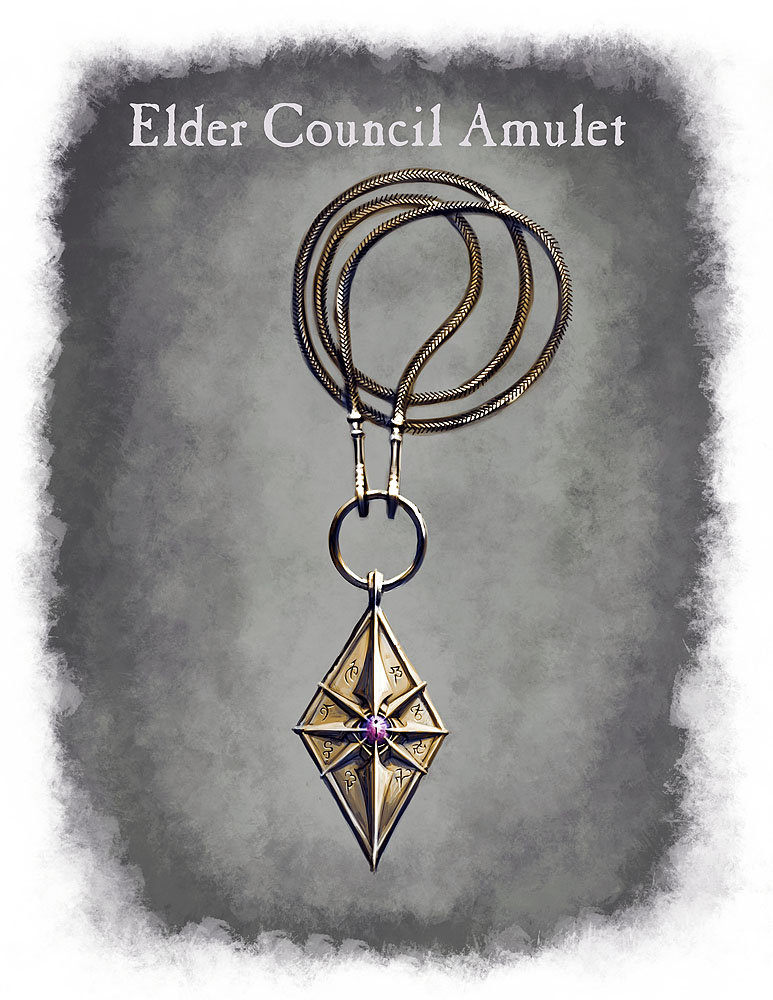 Ray lederer amulet elder council web