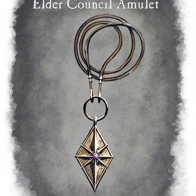 Ray lederer amulet elder council web