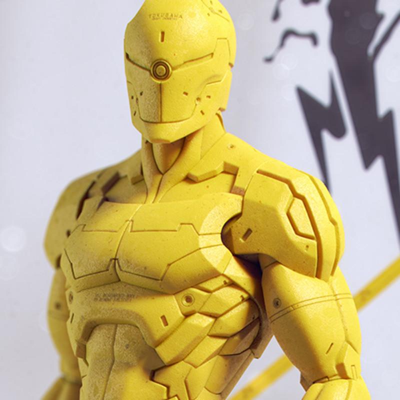 Gray fox Ninja Cyborg