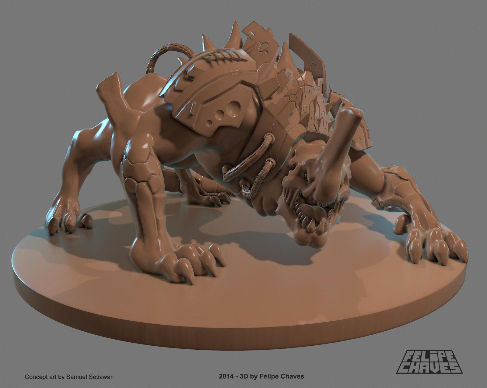 Beast - Board Game Miniature