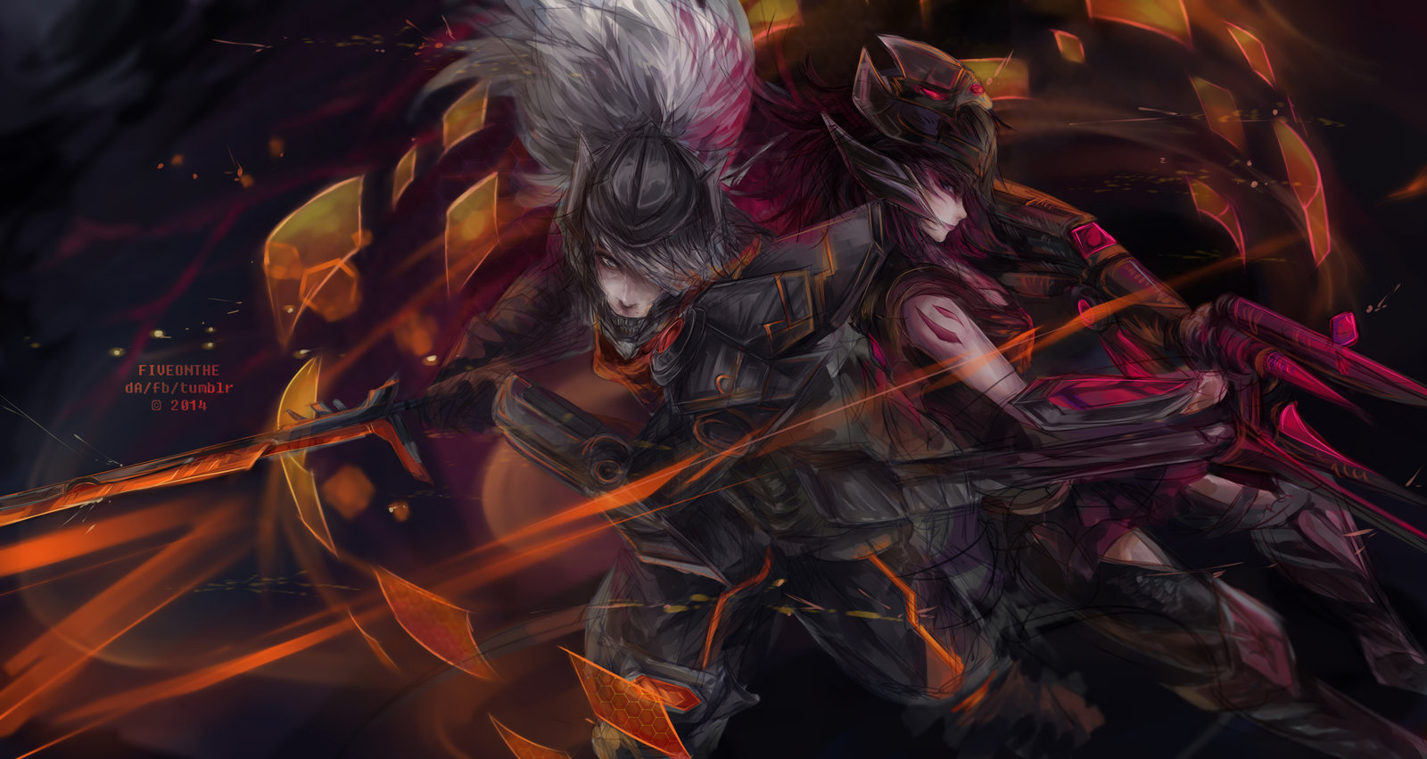 PROJECT: Yasuo and Headhunter Caitlyn