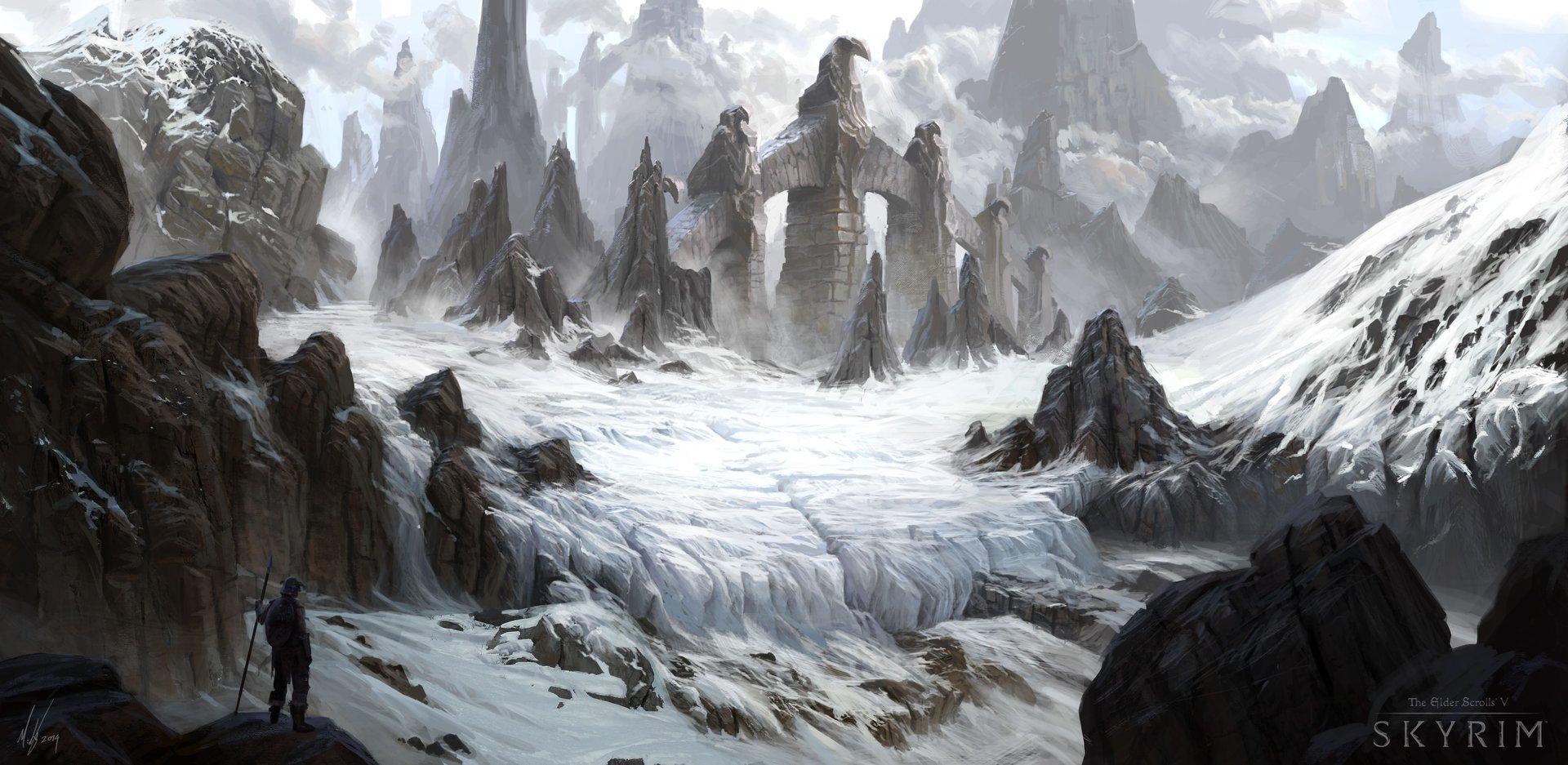 Skyrim hidden peak barrow