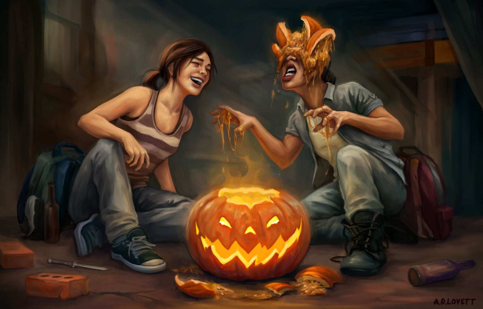 Last of Us: Halloween