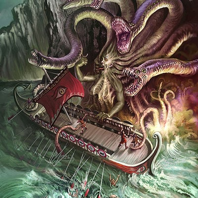 Scylla and charybdis by steve somers