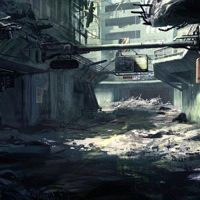 Dead city   detail
