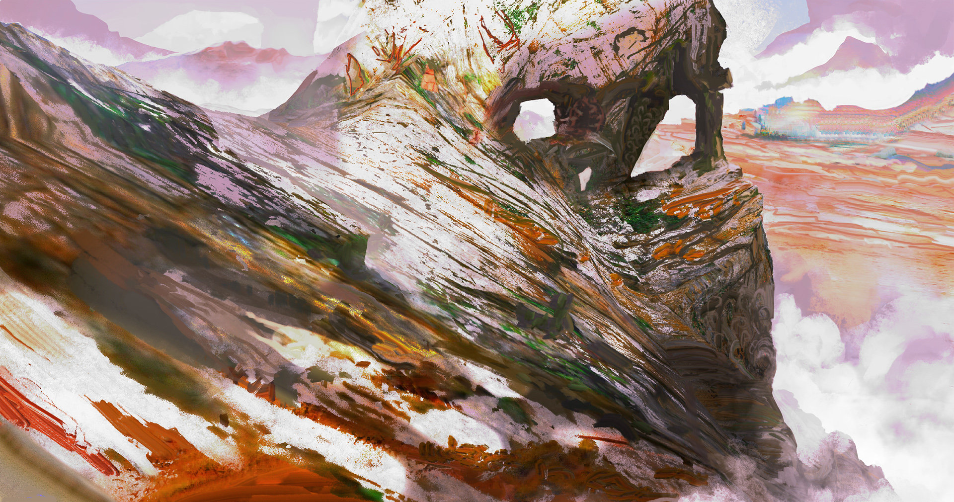 Kobo rock environment exploration 01b