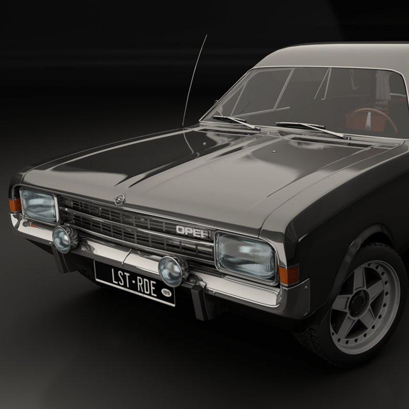 Opel Rekord Hearse