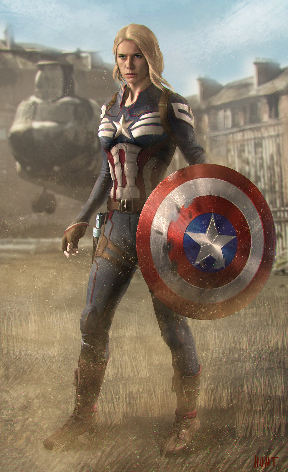 Captain America Key Frame