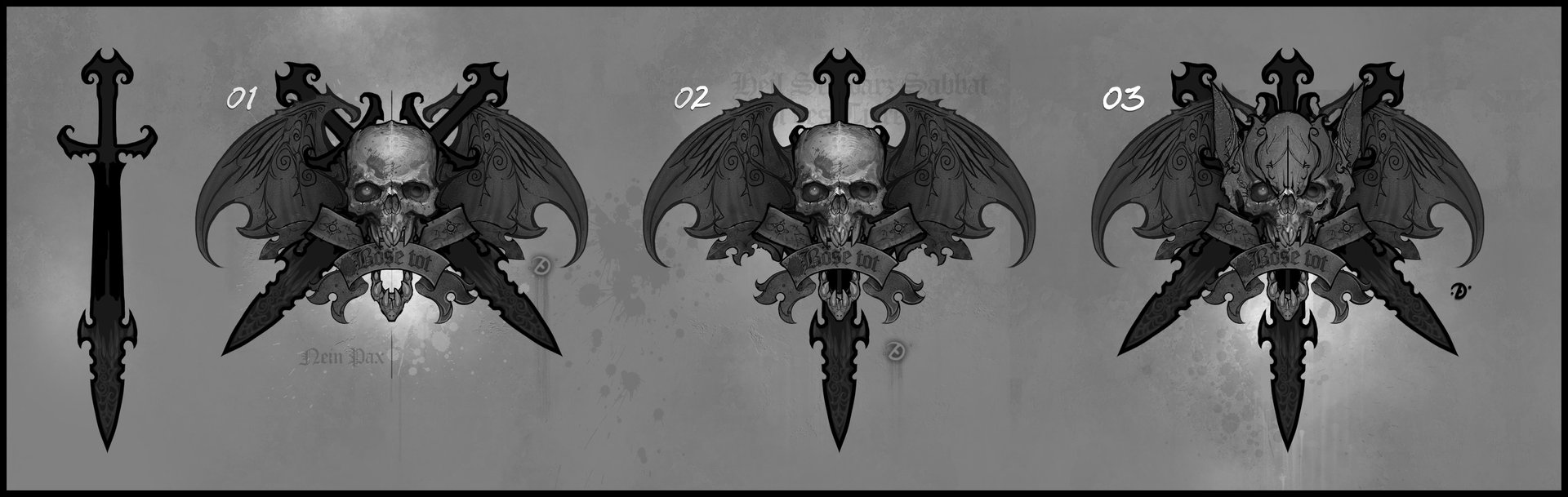 Artstation Vampire Counts Symbol Ted Beargeon