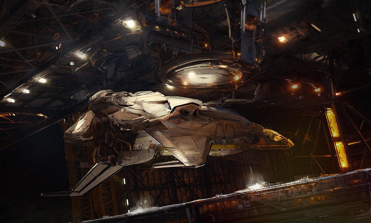 Docking Spaceship