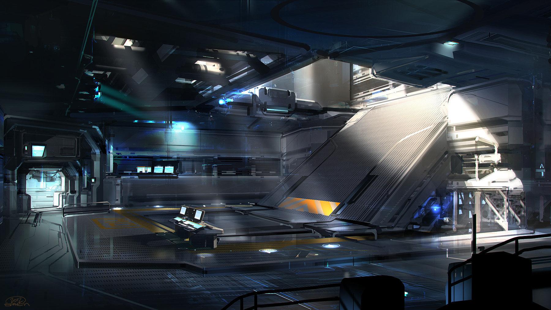 Complex cargo elevator room03 final