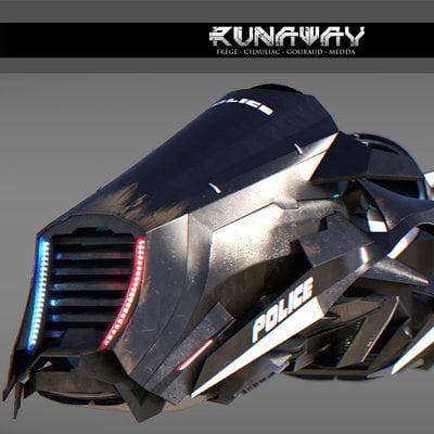 Speeder 3 4 render