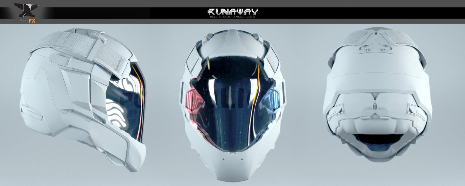 Runaway - Police Helmet