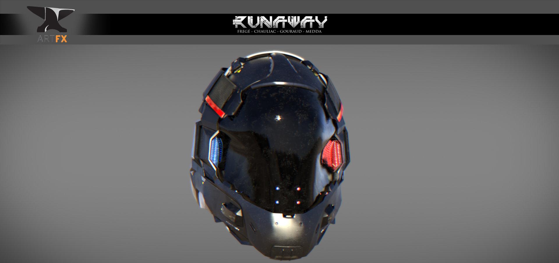 Helmet 3 4 render