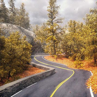 Autumn road s
