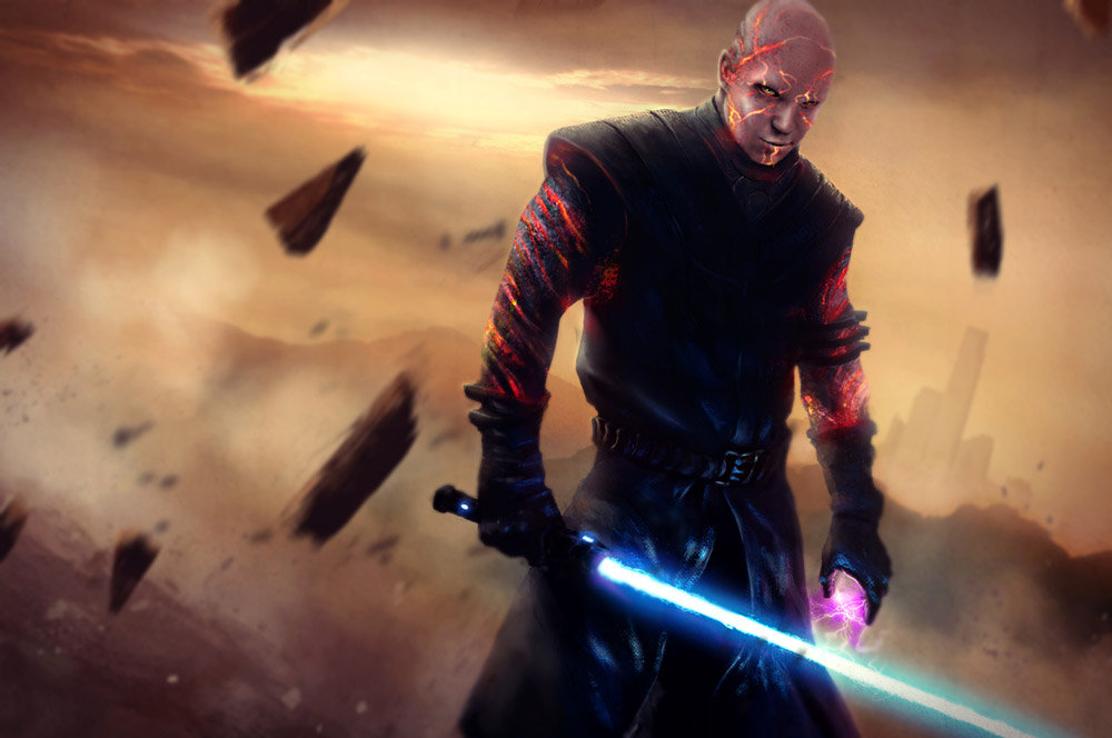 Fan art   star wars   sith's way