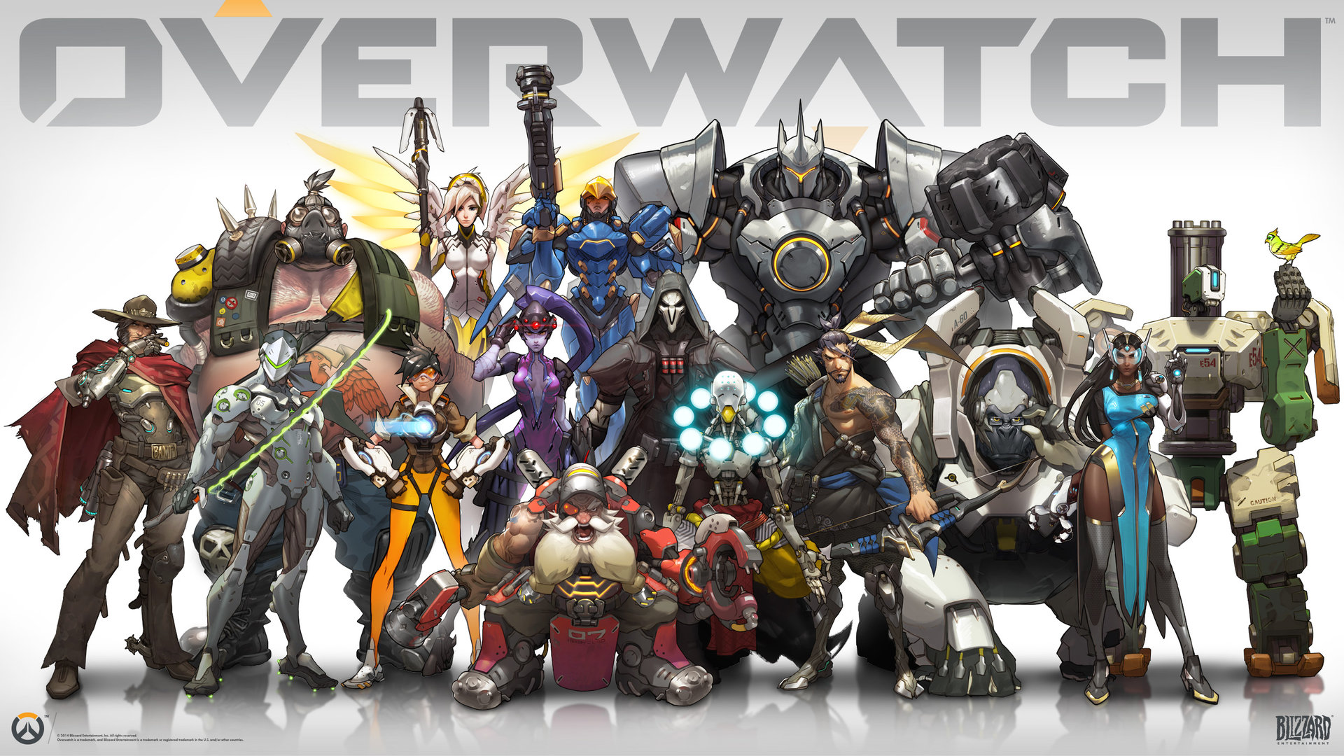 The Blizzcon 2014 announcement lineup poster