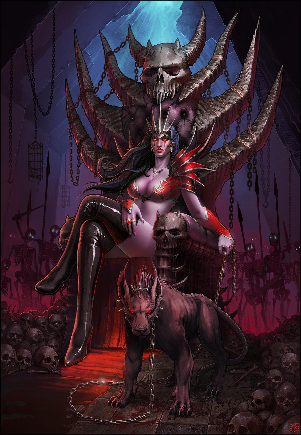 Undead queen2x