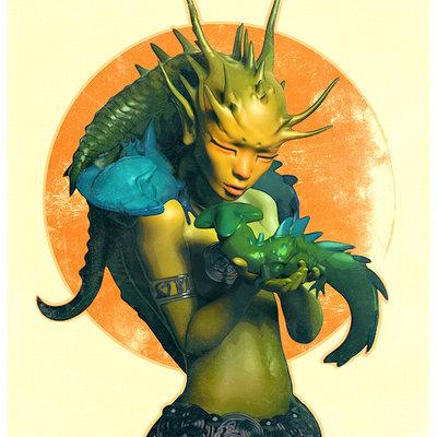Dragongirl low