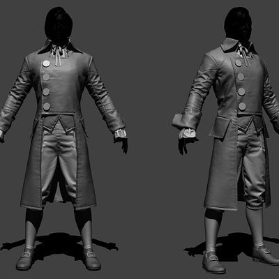 Acu arno party zbrush