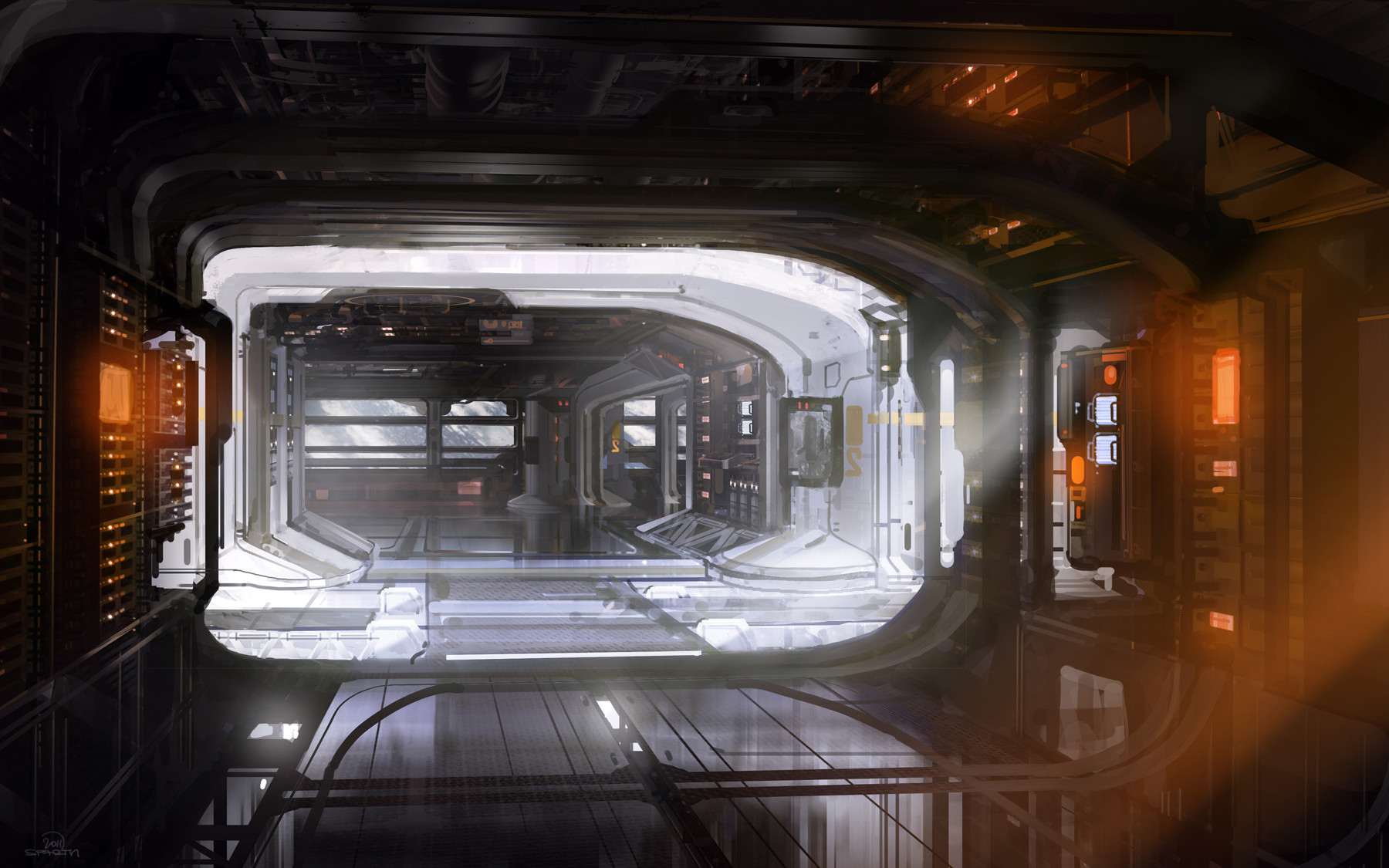 Space station interior final