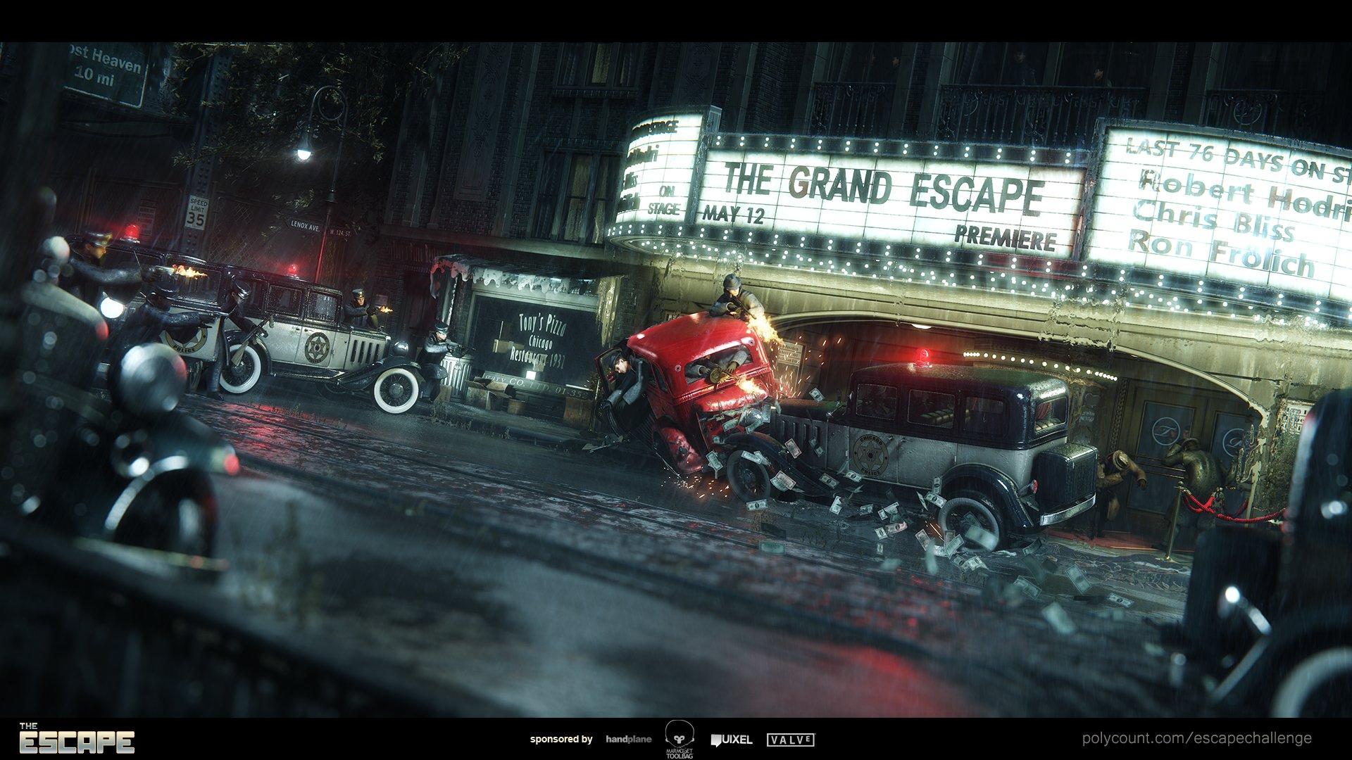 Escape Angle#3