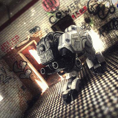 Bulldog walker concept