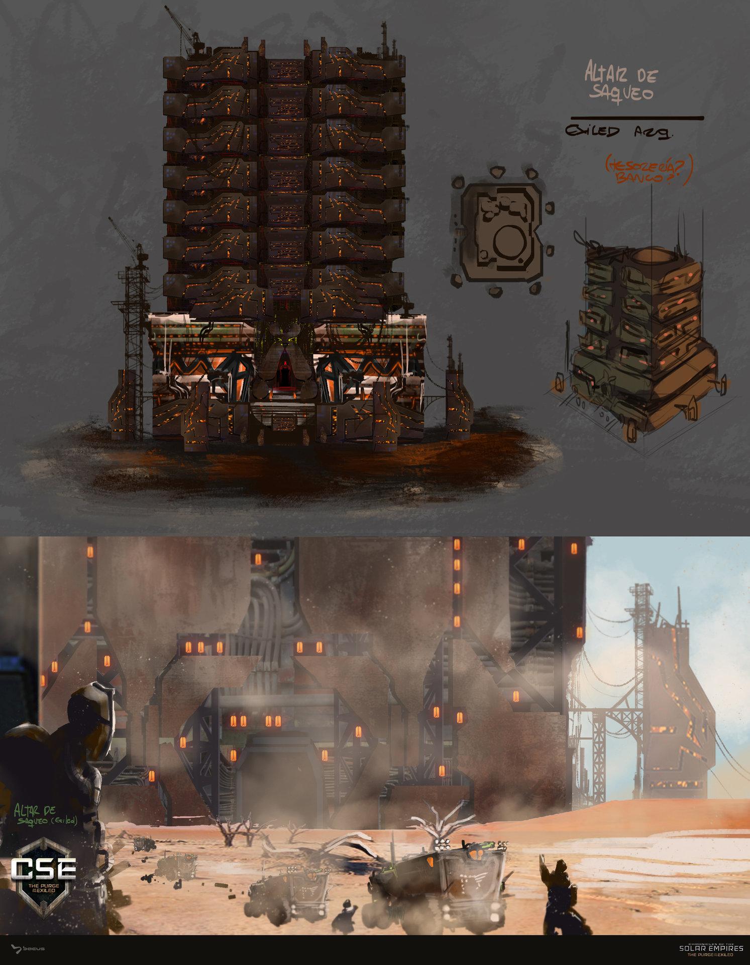 06 altar de saqueo    exiled concept