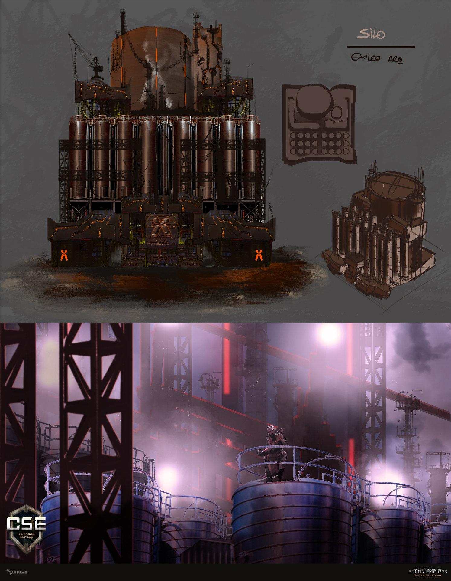 12 silo   exiled concept